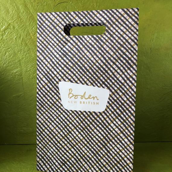 Unlaminated Luxury Paper Bags