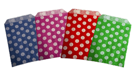 Polka Dot Counter Bags