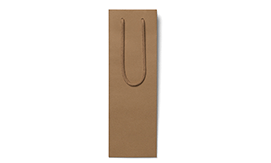 Recycled Brown Luxury Bottle Bags