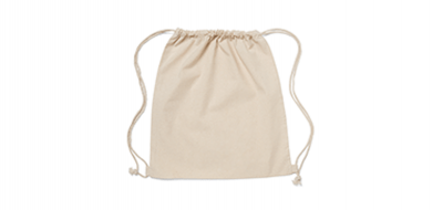 5oz Natural Cotton Drawstring Pouches