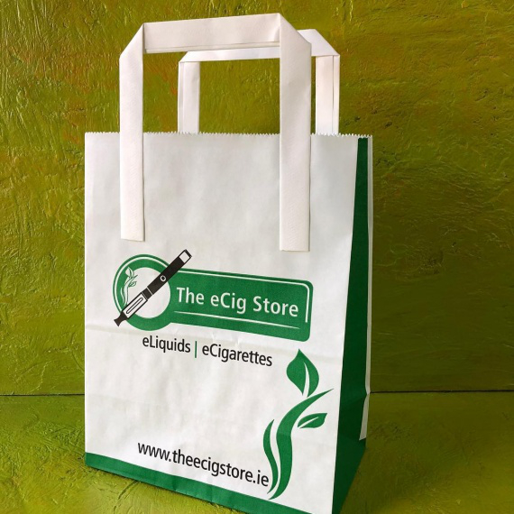 Folded Handle Paper Bags