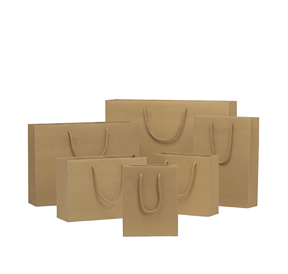 Brown Rope Handle Paper Bags