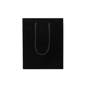 Black Matt Laminated Rope Handle Paper Bags From Paper Bag Co