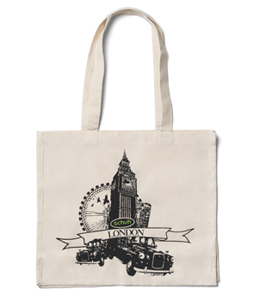 Overprinted Canvas Bags