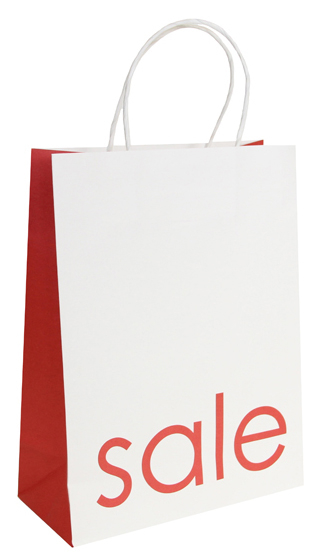Sale Twisted Handle Paper Bags