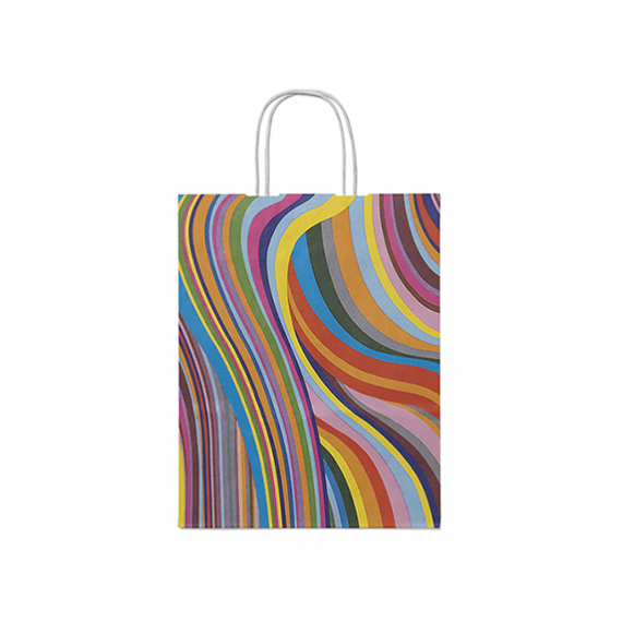 Seventies Twisted Handle Paper Bags