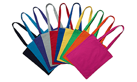 5oz Coloured Cotton Bags