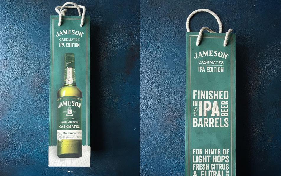 jameson bottle bag