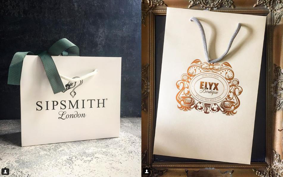 sipsmith paper bag