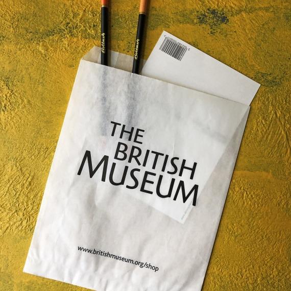 Museum printed bag