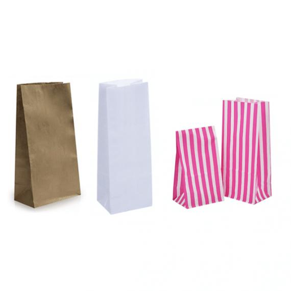 Gusseted Block Bottom Bags