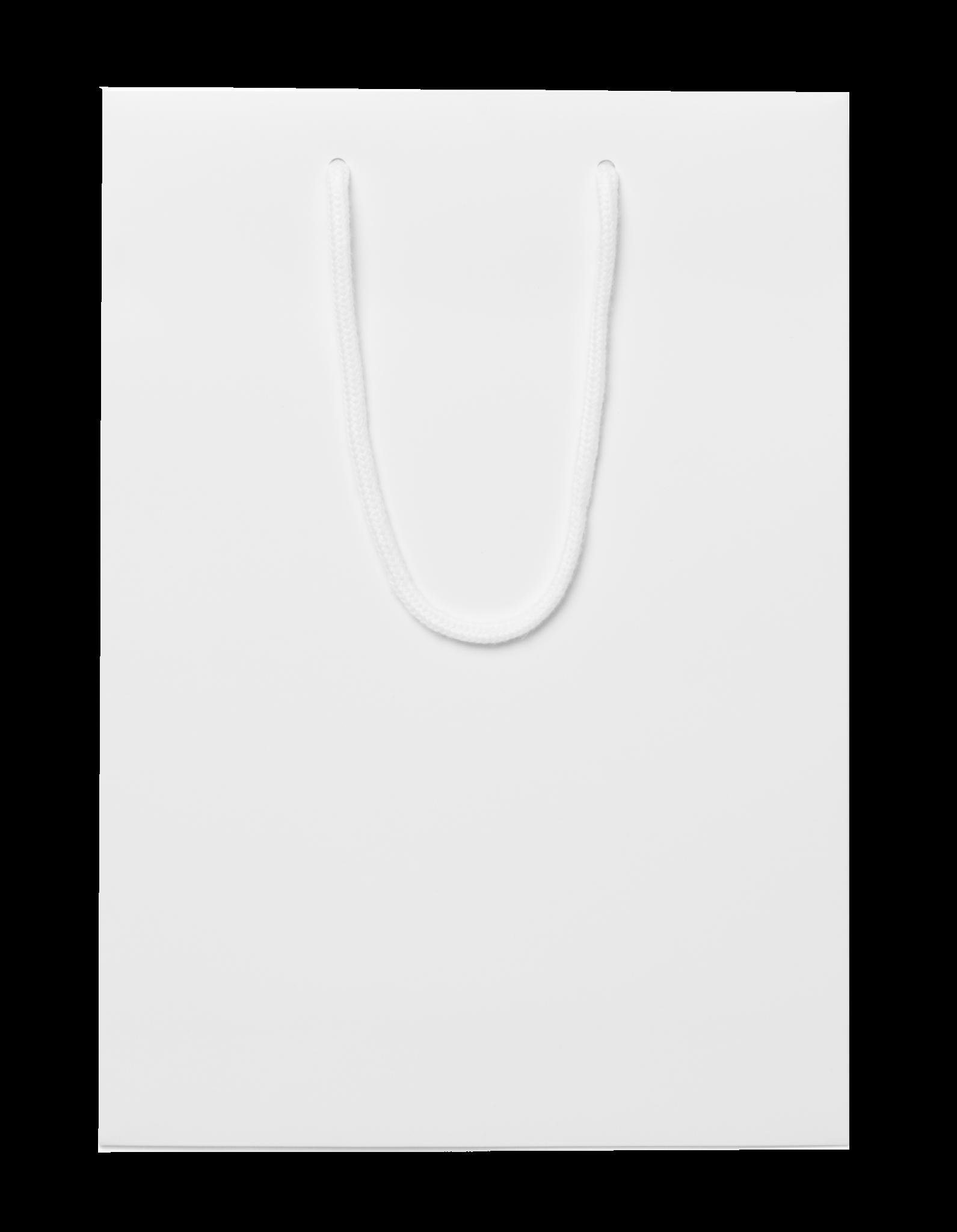 plain white bottle bags