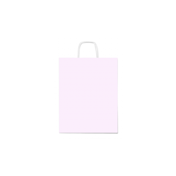 SALE White Twisted Handle Paper Bags
