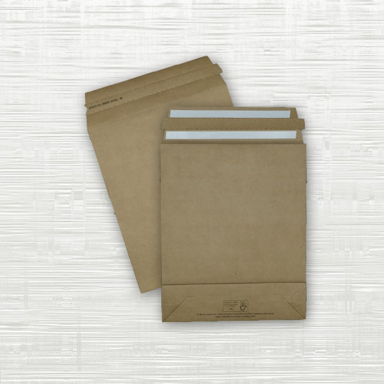Small Premium Paper Mailing Bags – 190x50x230