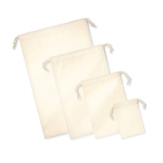 Westford Mill Organic Premium Cotton Stuff Bag – W266
