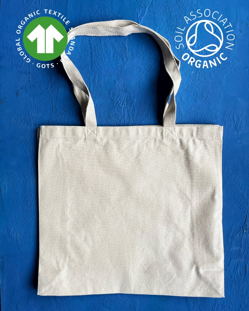 GOTS Organic 10oz Natural Canvas Bags – Landscape