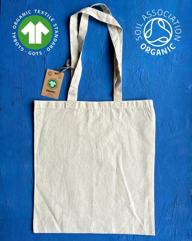 *NEW* GOTS ORGANIC 5oz Natural Cotton Bags