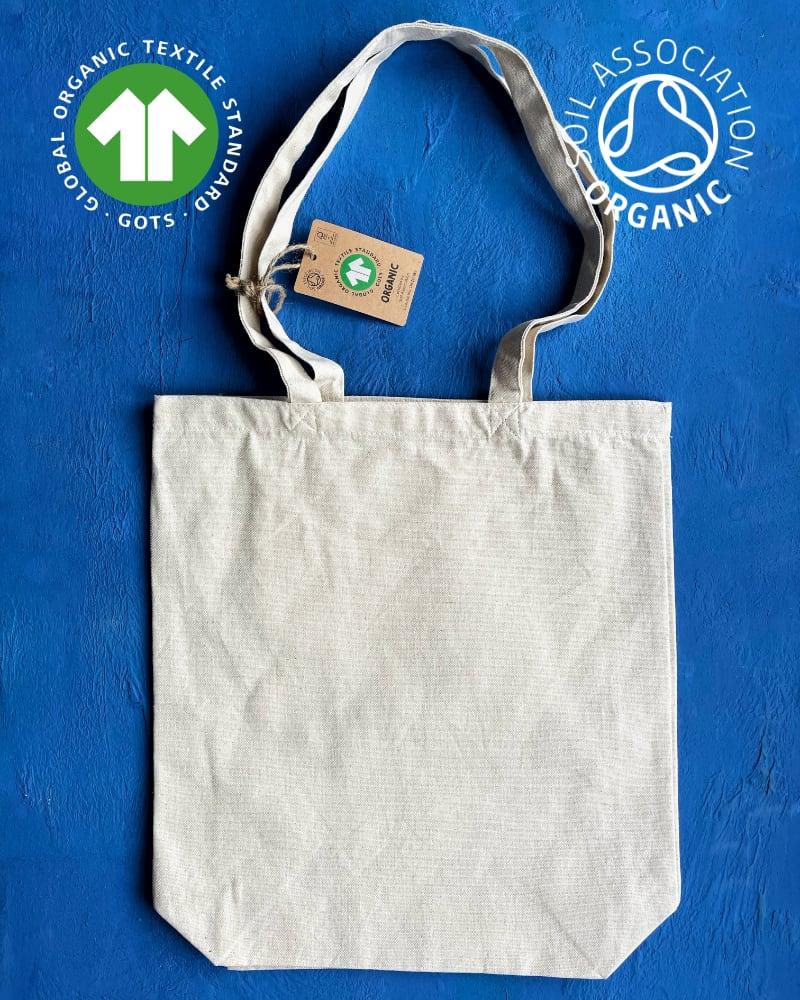 GOTS Organic 8oz Natural Canvas Bags