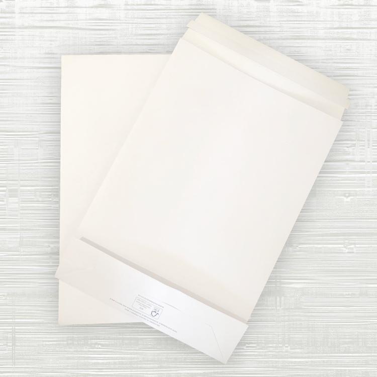 Large Premium White Paper Mailing Bags – 300x80x430